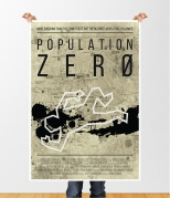 Population Zero movie poster design 1